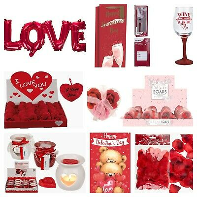 VALENTINES DAY ROMANTIC GIFTS His & Her Love Heart Cute Valentine Gifts