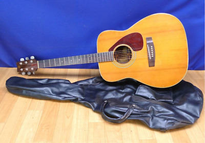 Yamaha FG-280 Japan Folk Guitar Green Label Acoustic Guitar with Soft Case
