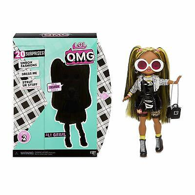 "1 Authentic LOL Surprise ALT GRRRL 10"" OMG Fashion Doll Series 2 Girl NEW 2020"