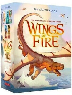 NEW Wings of Fire 5 Books Boxed Gift Set New York Times Bestselling Collection!