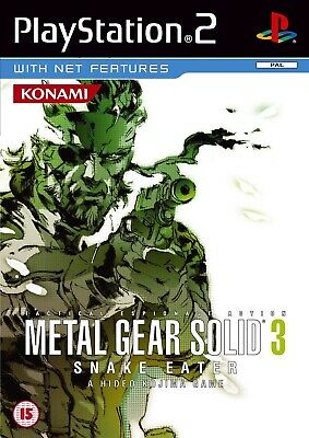 Metal Gear Solid 3: Snake Eater *NEW & SEALED* PS2