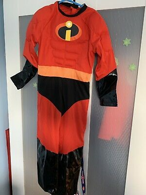 Disneyland Paris Incredibles Outfit Excellent Condition Worn Once Size 6 Years