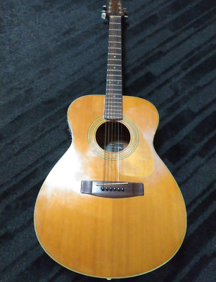 Rare Yamaha FG-200F Natural Basswood Acoustic Guitar Made in Japan