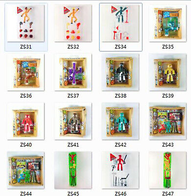 Stikbot Studio Pets Zing Animation Stickbots Weapon Hair Life Style to Seclect