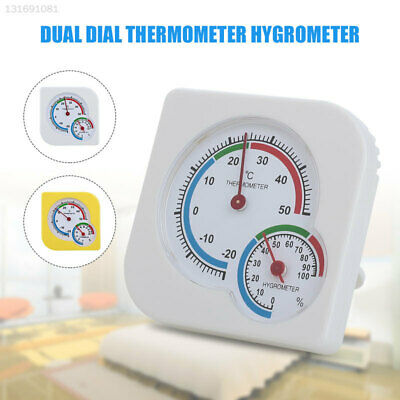 6D42 2 Color Indoor Hygrometer Digital Thermometer Household Office Professional