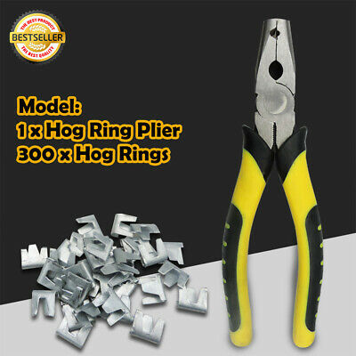 1pc Hog Ring Plier Tool Chicken Mesh Cage Wire Fencing Crimping Solder Join L1O4