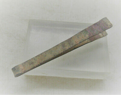 Circa 200-300Ad Ancient Roman Bronze Medical Or Hygeinical Tweezers