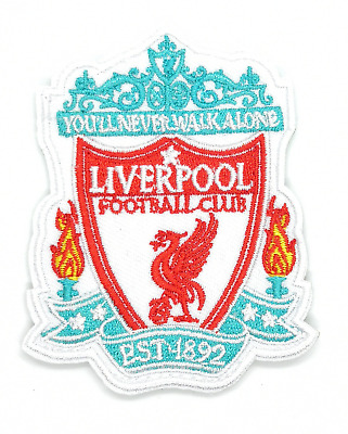 Classic LFC Liverpool KOP Football Shirt Embroidered Iron On Sew Patch Badge