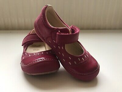 Girls Clark's First Shoes Sandals Pink 6 1/2 H