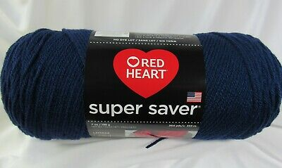 Yarncherry Coats Yarn Acrylic Blend Heart Super Saver Yarn-cherry Red Coats