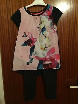 Stunning Genuine Ted Baker  Two Piece Outfit Aged 4 Years.  Immaculate Cond