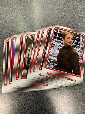 2019 Topps Journey To The Rise Of Skywalker Target Choose Your Destiny Set Of 10