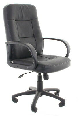 Black Office Executive Chair on Wheels