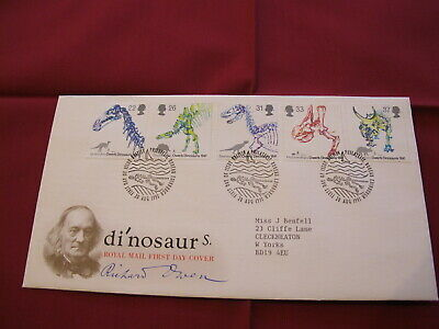 GB Royal Mail Stamps - First Day Cover / FDC - 1991 Dinosaurs