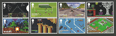 Gb 2020 Video Games Lemmings Worms Wipeout Soccer Dizzy Animation Set Mnh