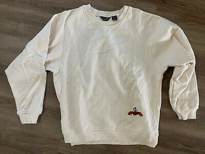 Christian Dior Monseur Sweatshirt Vintage Embroidered Sailboat