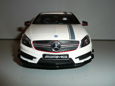 Mercedes-Benz A45 W176 Amg Diamond White 1:18 Gt-Spirit Dealer Ultra Rare
