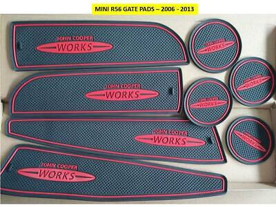 Interior Dashboard Mat Gate Pad Trim Mini John Cooper (R56) 2006-2013 Red Only
