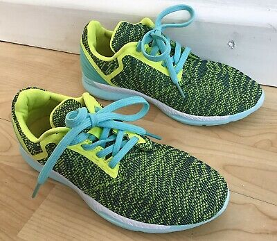 Girls Next Trainers Size 4 EUR 37 Green & Blue