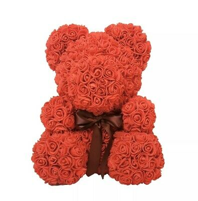 The Rose Bear Red Forever Roses Artificial Flowers Valentines Day