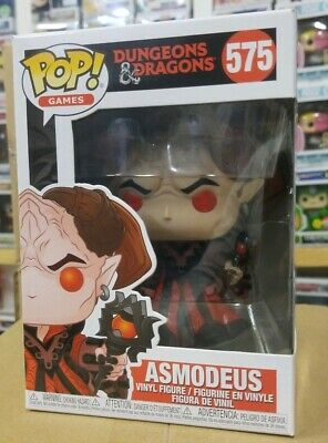 Funko Pop! Games - Dungeons & Dragons - Asmodeus #575 Classic Funko games pop