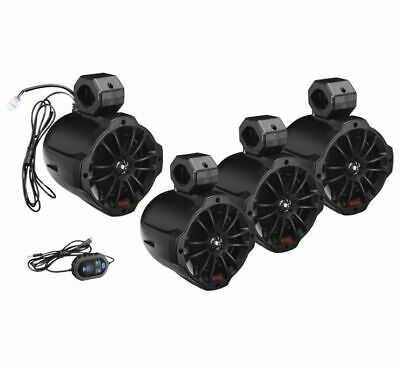 BOSS AUDIO B64ABT Amplified Bluetooth Roll Cage Speaker Pods