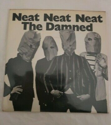 The Damned neat neat neat Shirt Size SM MED LG XL 2X All Sizes