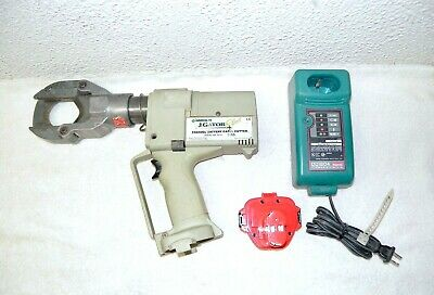 GREENLEE GATOR PLUS Cable Cutter ESG50GL & Battery & Charger