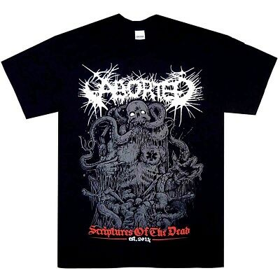 Aborted Scriptures Of The Dead Shirt S M L XL Official Metal T-Shirt Tshirt New