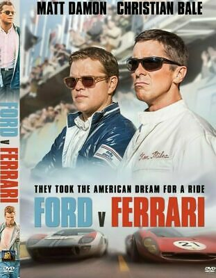 Ford v Ferrari (DVD 2019 2020) NEW Direct USA SELLER