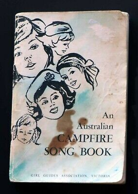 An Australian Campfire Song Book Vintage 1970's Girl Guides Assoc Vic