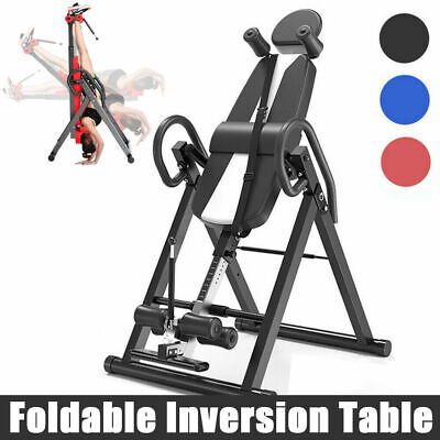 Exercise Inversion Table Invert Align Headstand Bench Reduce Back/Neck Pains US