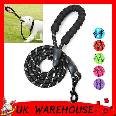 Pet Dog Training Lead Puppy Leash Collar Harness Long Line Strong Rope 15M G