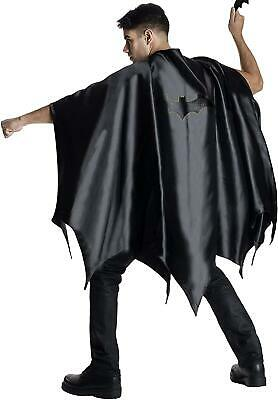 Batman Cape Con Logo Cosplay Costume Adult Cape Rubie's Dc Comics