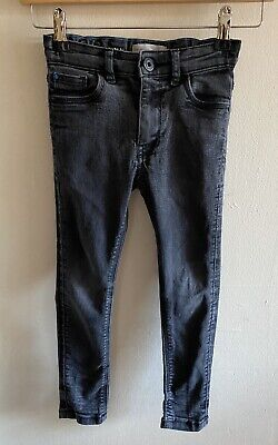Matalan Size 6 Years Grey Boys Super Skinny Jeans