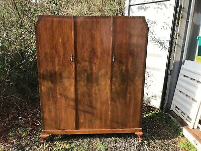 edwardian triple wardrobe - John Wood And Son Ltd -