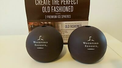 woodford reserve bourbon ice moulds - makes ice balls