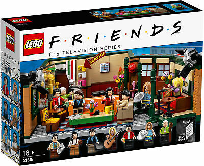 21319 LEGO Ideas Friends Central Perk 1070 Pieces Age 16 Years+