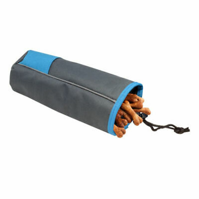All Pet Solutions Dog Training Treat Pouch Snack Food Holder with Belt Clip Blue