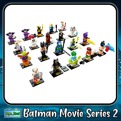 Lego Minifigures Batman Movie Series 2 Sealed - Select Your Mini Figure | 71020