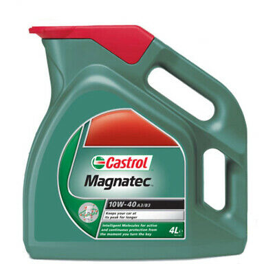 Castrol Magnatec Oil Car 10w-40 a3/b4 for Petrol Engines Synthetic 4lt