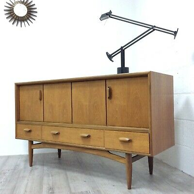 Vintage Retro G Plan E Gomme Teak Small Mid Century Sideboard By Victor Wilkins