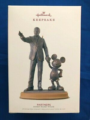 Hallmark 2018 Partner's Disney Statue Ornament