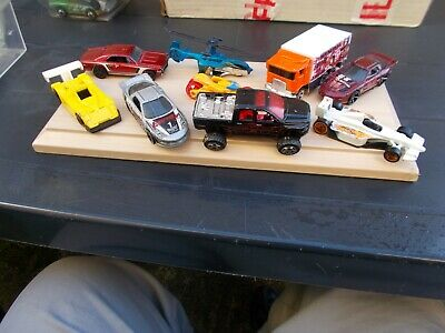 Job Lot Of 9 Assorted Old & New Hot Wheels 16-Used/Mint/Unboxed