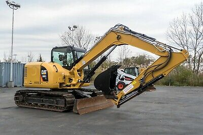 2017 CAT 308E2 HYDRAULIC EXCAVATOR - Only 1100 Hours!