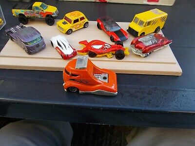 Job Lot Of 9 Assorted Old & New Hot Wheels 17-Used/Mint/Unboxed