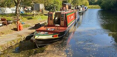 "47ft Tug 'Ceres' built byTed Spencer ""Narrowboat"""