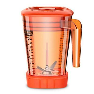 Waring CAC93X-28 48 oz The Raptor Copolyester Blender Container -Orange