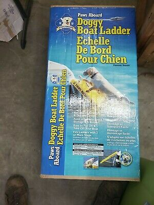 Dog Boat Ladder Paws Aboard Dog Boat Ramp Dog Water Safety