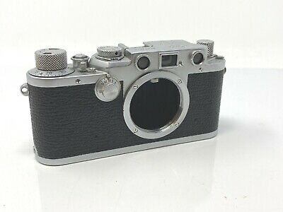 Leitz Leica IIIf 35mm film rangefinder camera body